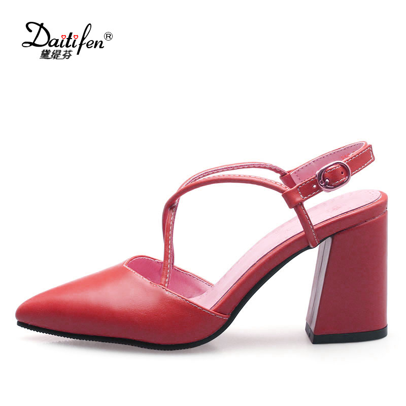 2a9c182873bf ... New Latest Variety Shoe Solid party wear stilettos PU Leather Office  Ladies High Pumps Concise Narrow Band High heels on Aliexpress.com
