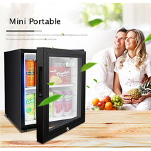 LBC-42A Household Single Door 50W 42L Mini Refrigerator Wine Milk Food Cold Storage Home Cooler Dormitory Freezer Fridge