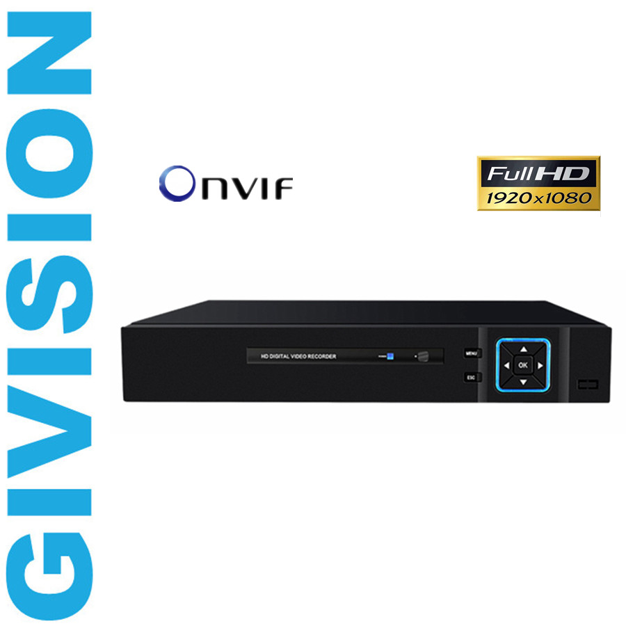 4Ch CCTV NVR 1920*1080P Full HD P2P Standalone ONVIF 2.0 For IP Camera network video recorder Security SystemFor 1080P Camera 1080p nvr full hd 4ch 8ch 16ch 24ch security cctv nvr 1080p onvif 2 0 for ip camera system 1080p
