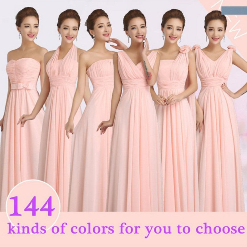 Online Get Cheap Pink Sweetheart Dama De Honor Vestidos Largos ...