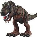 Большие размеры электронных динозавров игрушки звук свет Парк Юрского Периода Tyrannosaurus rex детские игрушки подарок