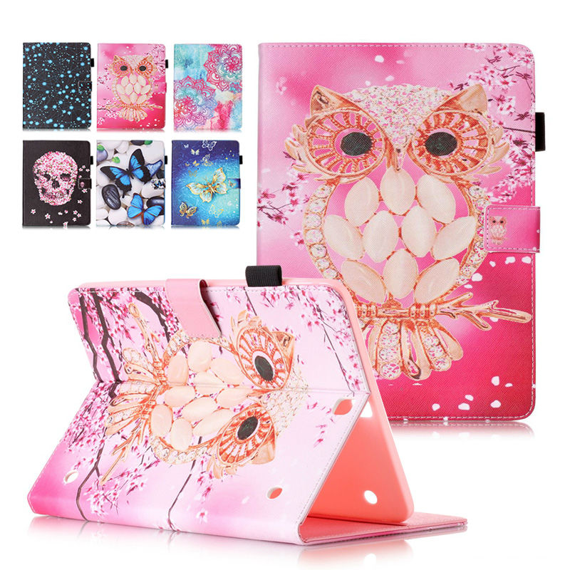 New For Samsung Galaxy Tab S2 T810 T815 SM-T810 9.7 Tablet PU Leather Flip Case Cover with Screen Protector+ stylus pen samsung galaxy tab s 2 sm t810 white