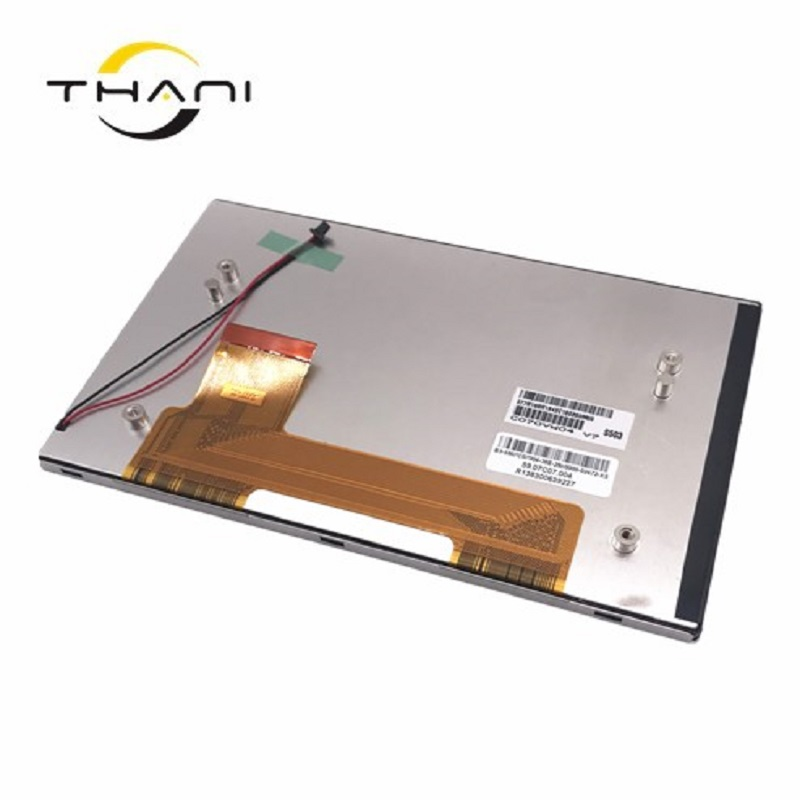 Thani 7 inch C070VW04 V7 LCD screen is used for car DVD navigation Free Shipping a gauge 7 inch lcd at070tn94 highlight navigation screen screen