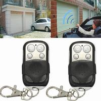 3PCS 4 Button Electric Gate Garage Door Remote Control 270MHz 434MHZ Cloning Transmit Dec 21