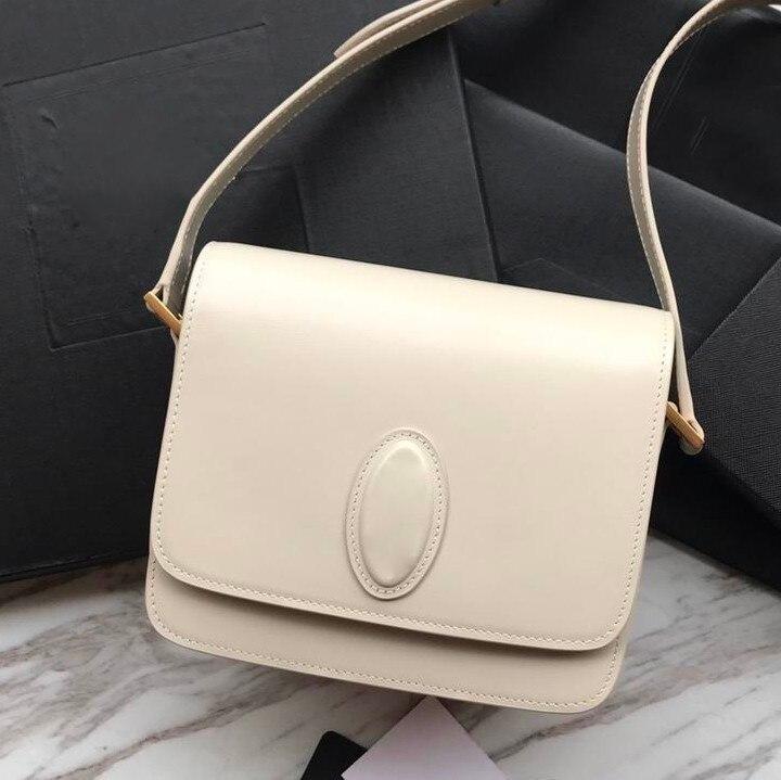 2019NEW niestandardowe sprzęgła luksusowe torebki damskie torby projektant prawdziwa skóra skóry wołowej TOP moda marka mała torebka damska torba na ramię w Torebki na ramię od Bagaże i torby na  Grupa 1
