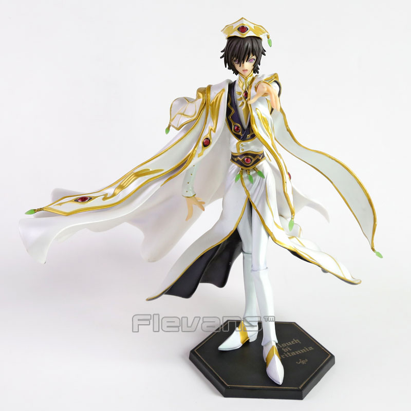 Anime Code Geass R2 Lelouch Lamperouge Britannia Knight of Zero Emperor Ver. PVC Figure Collectible Model Toy 27cm сумка emperor mk20380 2014