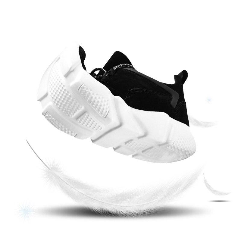 Fashion Casual Peluche Of Nero Zapatillas Masculino calda Uomo Sciarpa Surom Scarpe Confortevole Winter Uomo Sneakers Grigio Hombre Sapato Leather 17wq08