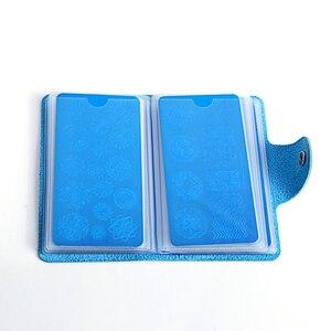 Image 3 - Biutee 24 חריצים בול נייל ארט צלחות פלייט מחזיק אחסון תיק עמיד עור מפוצל מקרי חותמת תיק ארגונית