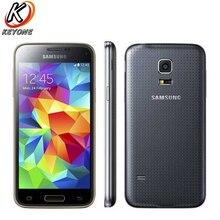 """Оригинальный Samsung Galaxy S5 мини мобильный телефон 1.5 ГБ Оперативная память 16 ГБ Встроенная память 4.5 """"Samsung Exynos 3470 4 ядра 1.4 ГГц 2100 мАч телефона Android"""