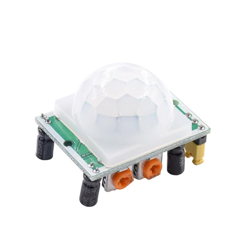 Free shipping 10PCS/LOT HC-SR501 HCSR501 SR501 human infrared sensor module Pyroelectric infrared sensor imports probe