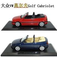 Collectors 1/18 Diecast Metal 1995 MG TD 771 VW Golf cabriolet Car Models Restoring ancient ways