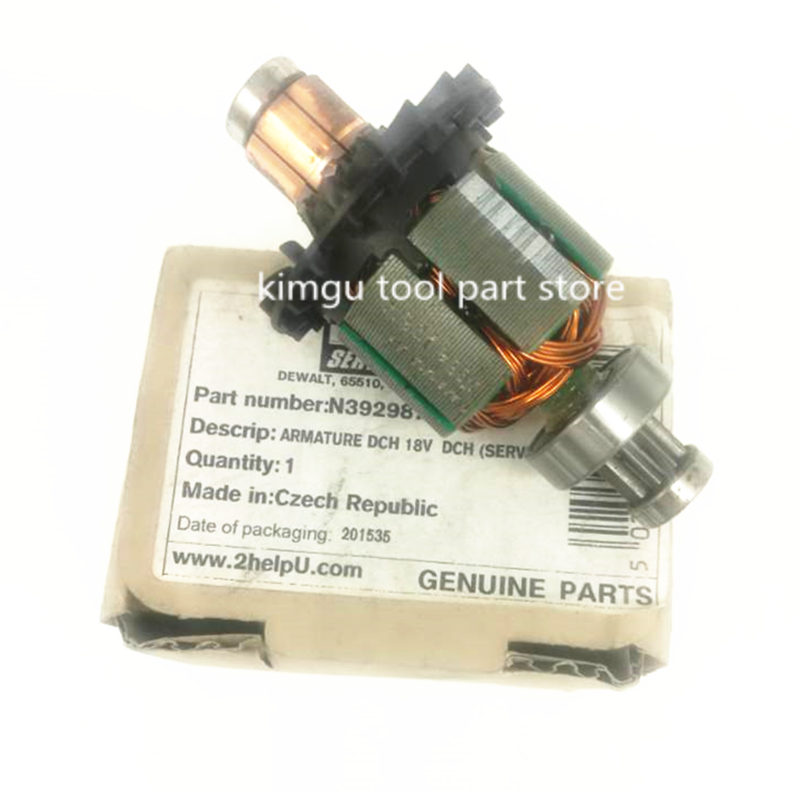 18V-20V ARMATURE Rotor Motor Replace For Dewalt N392987 DCH253 DCH254 transmission n438742 replace for dewalt dcd792 dcd791