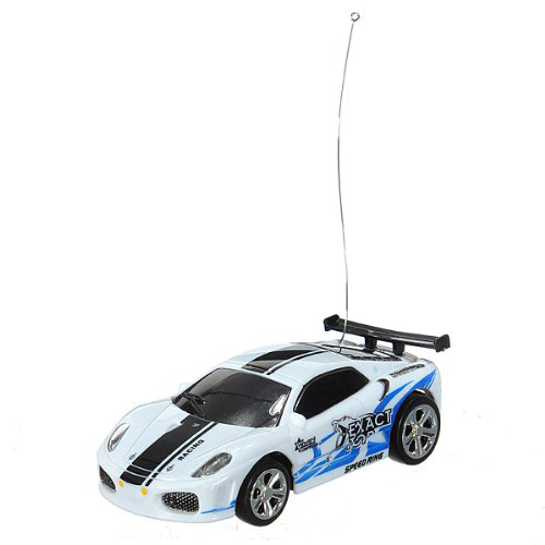 Red mini remote control car 1:58 cans with remote control 27 M