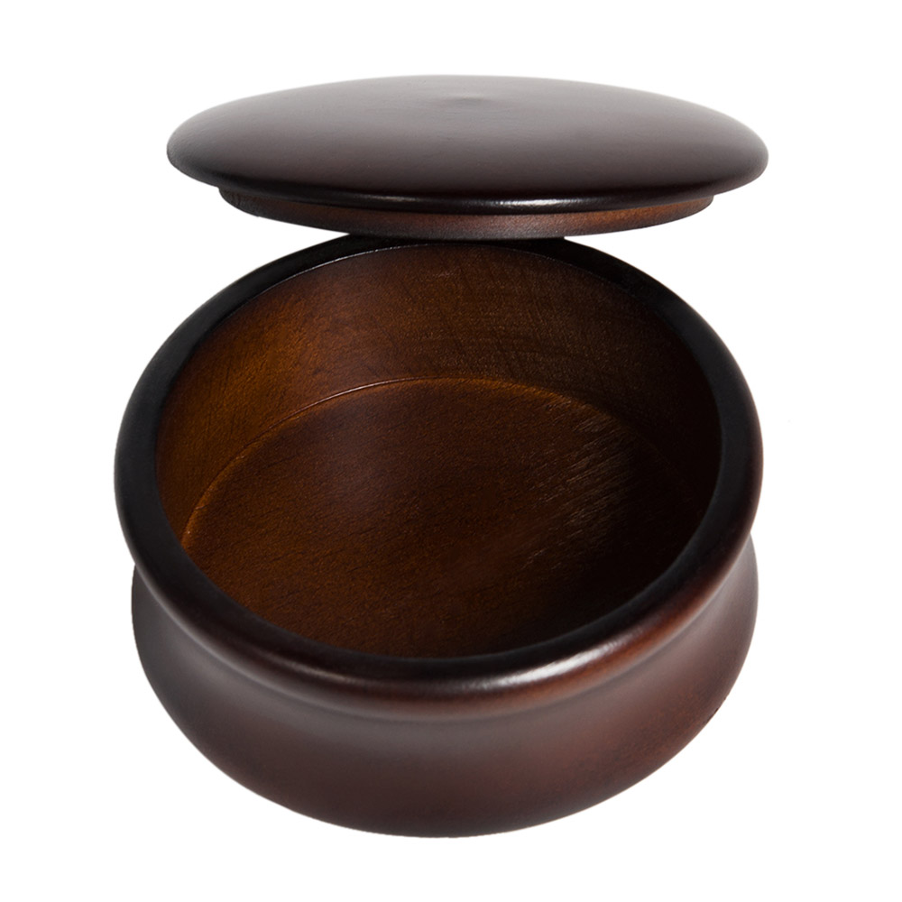 Fashion Wooden Soap Bowls Men's Shaving Mug Bowl Cup With Cover Shave Cream Soap Cup For Shave Brush Male Face Cleaning Soap Mug