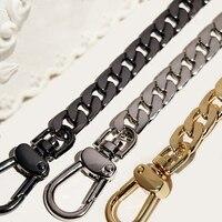 9mm Metal Replacement Chains Shoulder Bags Straps Handles DIY 40cm 140cm Gold Silver Gun Black Bronze