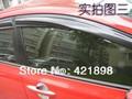 For Honda Civic 2012 2013 2014 2015 window visor Vent Deflector Rain Guard 4 PCS