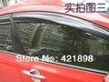 Para Honda Civic 2012 2013 2014 2015 ventana de Ventilación visor Deflector Protección Contra La Lluvia 4 UNIDS