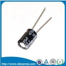 50 шт в наборе 16 V 470 мкФ 470 мкФ 16 V Алюминий электролитический конденсатор с алюминиевой крышкой, Размер 8*12 мм 16 V/470 мкФ электролитический конденсатор