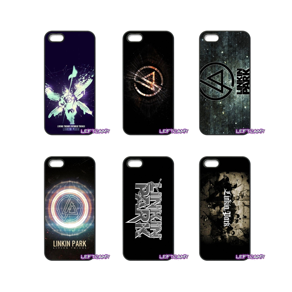 Linkin Park Band Logo Poster Hard Phone Case Cover For iPhone 4 4S 5 5C SE 6 6S 7 8 Plus X 4.7 5.5 iPod Touch 4 5 6