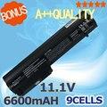 6600 mah batería para hp elitebook 2533 t 2530 p 2540 p 2400 2510 p nc2400 hstnn-xb22 hstnn-xb23 rw556aa hstnn-db23 hstnn-fb21