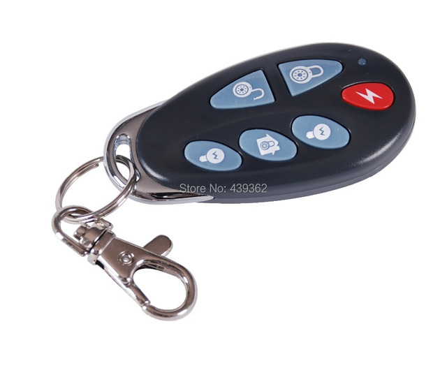 Focus PB-403R Wireless Built-in Antenna Keychain Remote Controller Home Alarm Keyfobs,868MHz,Free Shipping