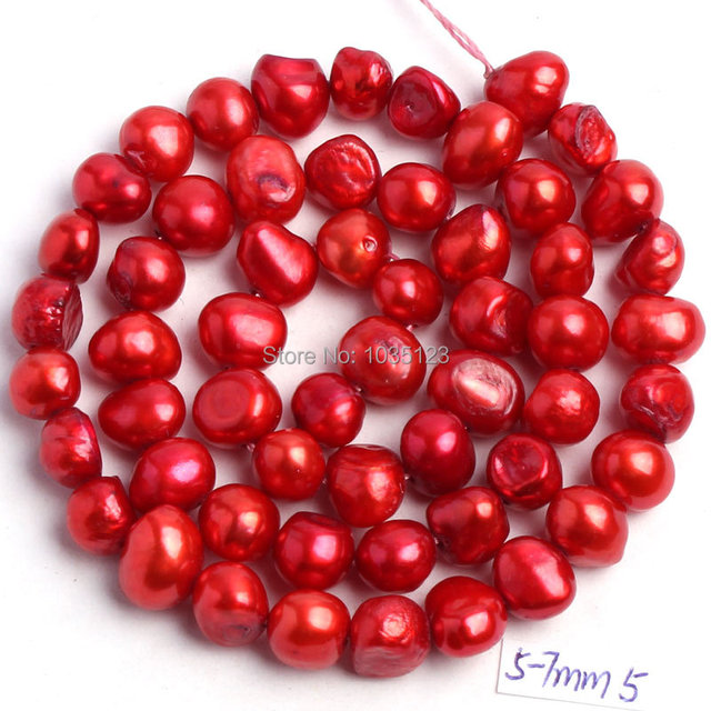 18Color 5-7mm Natural Freshwater Pearl Beads 3