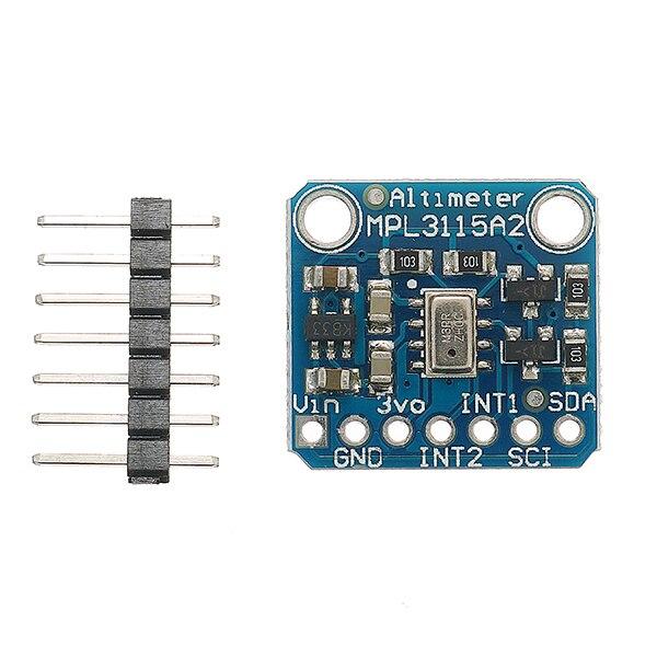 MPL3115A2 IIC I2C Intelligent Temperature Pressure Altitude Board font b Sensor b font Module V2 0