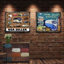USA Seller Vintage Metal Plate Tin Signs Wall Poster Decals Painting Bar Club Pub Home Decor 30*20cm 1001(683)