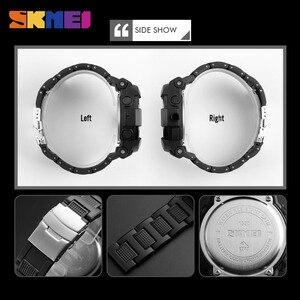 Image 4 - SKMEI 1320 цифровой 2 раз подсветкой Наручные часы хронограф жизнь Водонепроницаемый часы Для мужчин Для женщин Fshion Повседневное браслет