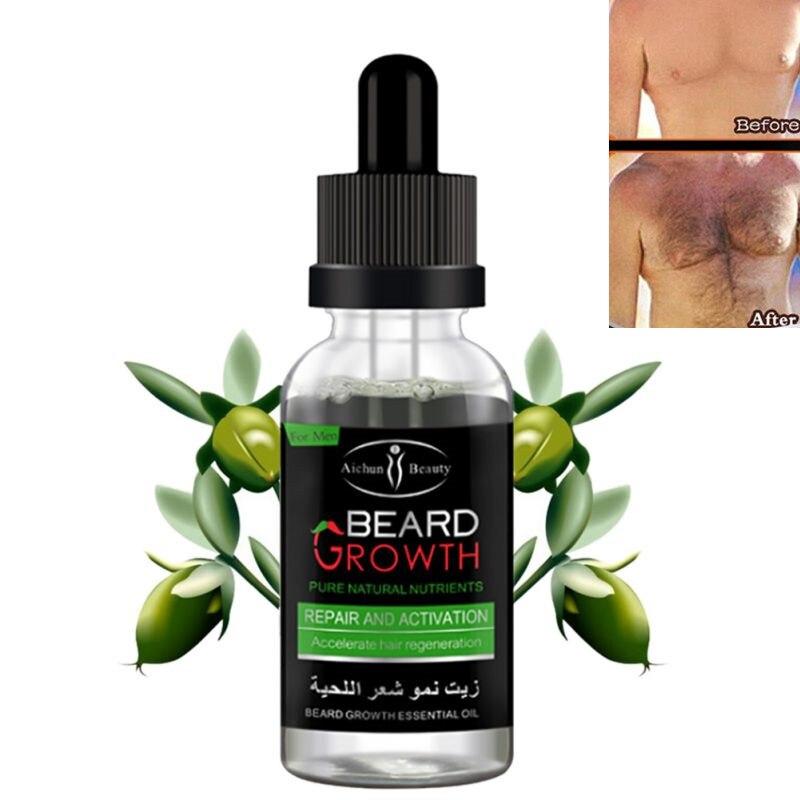 Professional Men Beard Growth Enhancer Facial Nutrition Moustache Grow Beard Shaping Tool
