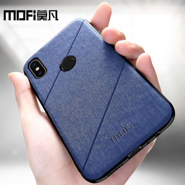 MOFi Xiaomi Redmi Note 5 Pro Business Style Shockproof Back Case Cover
