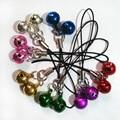 2017 New Arrive Mini Key Chain Jingle Bells  Key Chain Key Ring Bag Pendant For Car Key Holder Cute Charm Jewelry