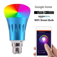 Fcmila Colorful Bulb E27 E26 E14 B22 Smart APP WIFI Remote Control Smart LED Light RGBW Colorful temperature Romantic lamp bulb