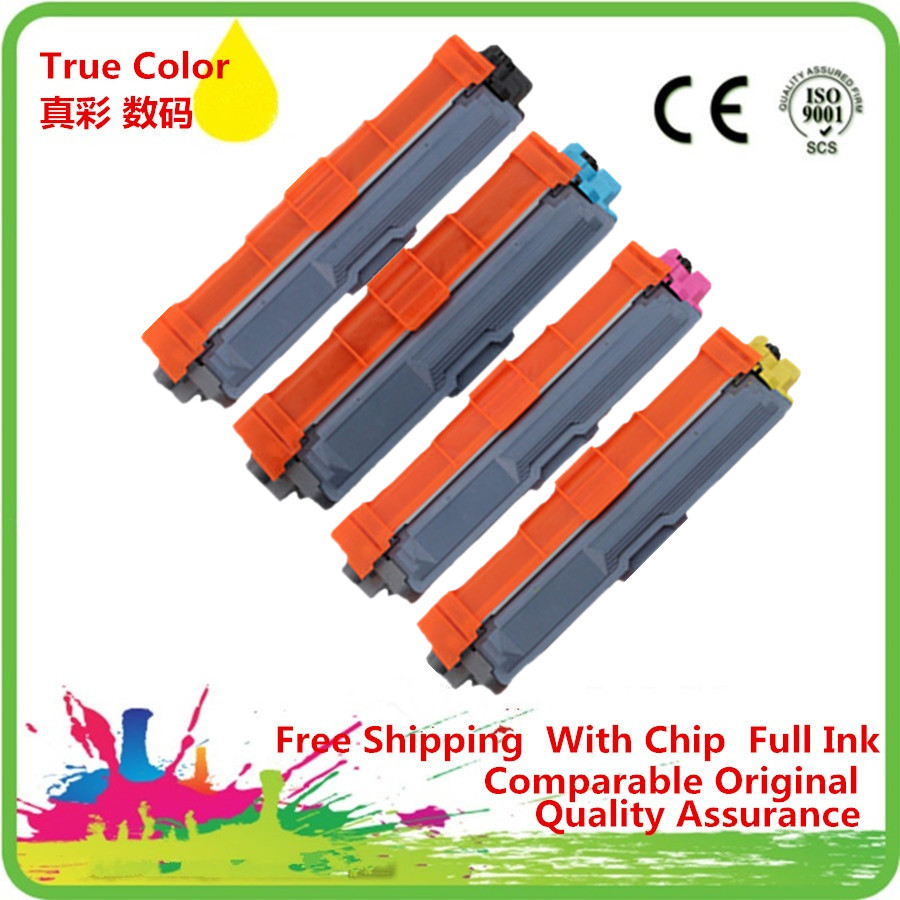 TN221 TN241 TN251 TN261 TN281 TN291 Color Toner <font><b>Cartridges</b></font> Replacement For <font><b>Brother</b></font> DCP-9055CDN <font><b>HL</b></font> 3140CW 3150CDW 3170CDW Printer image