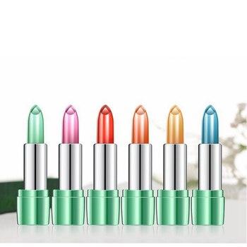 Natural Aloe Vera Lipstick Long Lasting Temperature Change Color Red Lip Stick Blam Transparent Magic Jelly Waterproof Lipsticks