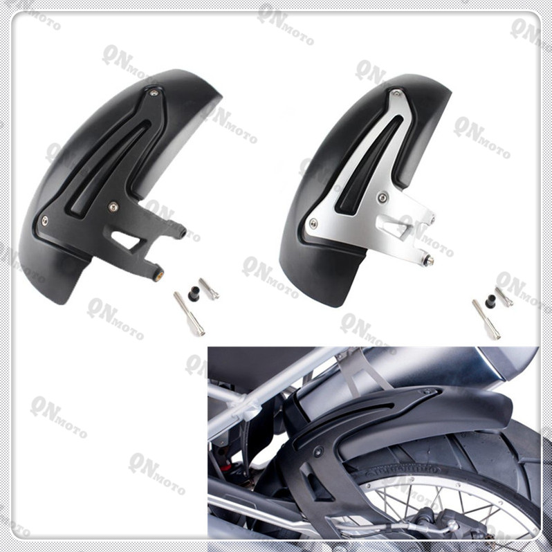 New Motorcycle Rear Hugger Fender Mudguard Mudflap Mud Flap Splash Guard For B M W R1200 GS LC 2013-up R1200 GS LC Adv. 2014-up motorcycle rear wheel hugger fender mudguard mud splash guard for suzuki gsxr600 gsxr750 gsxr 600 750 2006 2007 2008 2009 2010