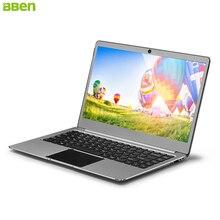 Bben 14.1 »ноутбук Windows 10 Intel Celeron N3450 Quad Core 4 ГБ Оперативная память 64 г EMMC SSD опционально Wi-Fi BT4.0 HDMI typec ноутбуки ноутбук