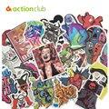 100 Emoji pçs/set Mistos Adesivos DIY Etiquetas Para Bagagem Frigorífico Skate Laptop Estilo de Decoração Para Casa Crianças Brinquedos