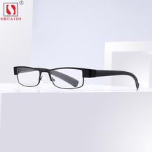 Portable Anti-Fatigue  Reading Glasses Men Women Half Rim Resin Clear Lens Eyeglasses Spectacle Eye +1.0 To+4.0