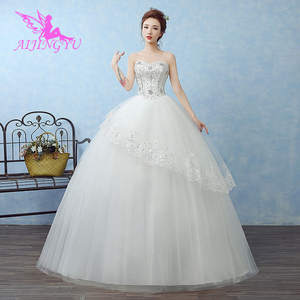 AIJINGYU Bride Dresses Sexy Ball-Gown New Cheap Lace-Up WK687 Back-Formal Hot-Selling