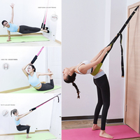 Back Bend Assist Trainer Improve Back and Waist Flexibility Door Flexibility Stretching Strap Home Equipment for Ballet Yoga