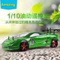 Удивительные 1:10 RC Car Toys with Petrol Power Модель автомобиля Высокая Скорость 80-90HM/ч Гоночный Автомобиль для Детей и взрослый
