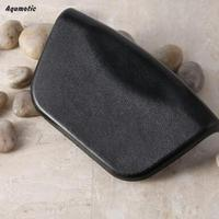 Aqumotic ECO Bath Pillow For Men Luxury Memory Foam Bath Pillows For Kids Black Bathing Pillow