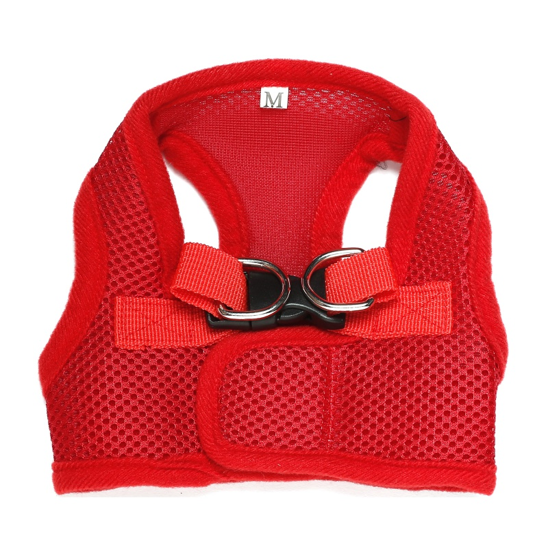 New Fashion Dog Comfort Vest Harness Leash XS/S/M/L/XL Mesh Breathable Chihuahua Clothes