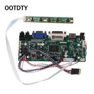 """Image 1 - Controller Board LCD HDMI DVI VGA Audio PC Module Driver DIY Kit 15.6"""" Display B156XW02 1366X768 1ch 6/8 bit 40 Pin Panel"""