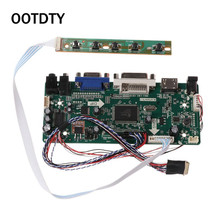 """Scheda del Controller LCD HDMI DVI VGA Audio PC bordo di Driver del Modulo Kit FAI DA TE 15.6 """"Display B156XW02 1366X768 1ch 6/8 bit 40 Spille Pannello"""