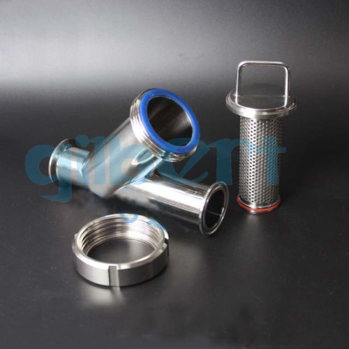 """SS304, 300mesh or other TC-Clamp 1.5/""""//38mm Triclamp Sanitary FILTER L-Style"""