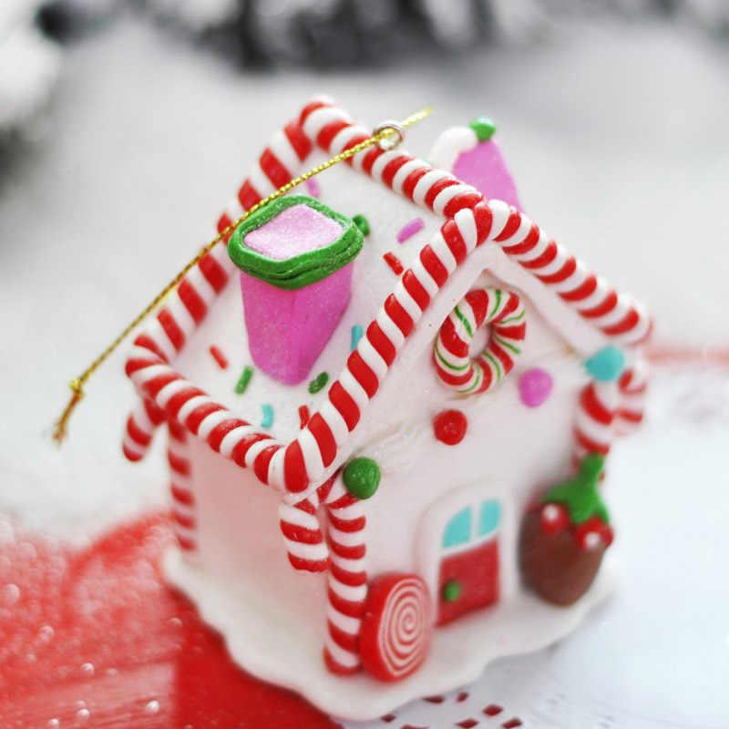 รถตกแต่งตกแต่งคริสต์มาส Igloo คริสต์มาส Candy House ตลาดคริสต์มาสหน้าต่างอุปกรณ์เสริมของขวัญ