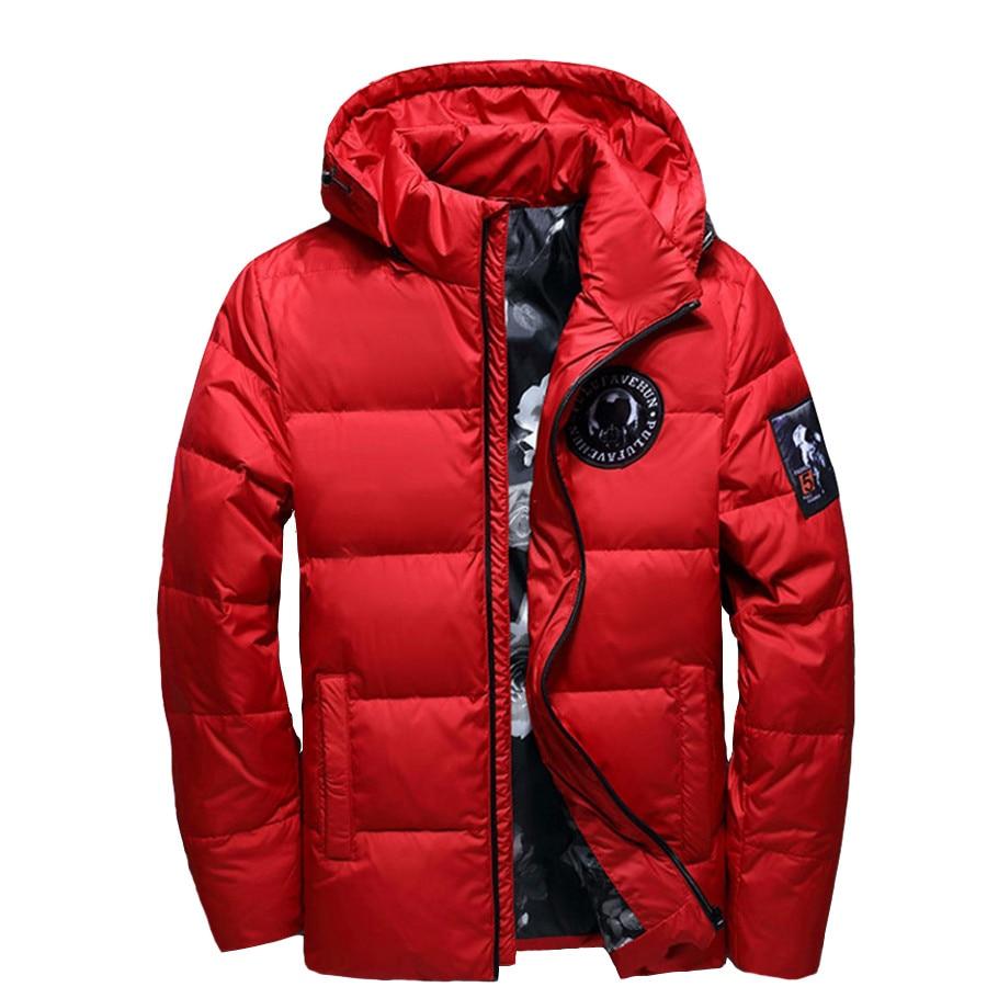jaqueta masculina men   down   jacket Men hooded   down     coat   casaco masculino inverno Men Winter thin Duck Down18381