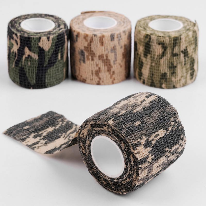 Besta 10pcs  Disposable Tattoo Self Adhesive Elastic Bandage 5cm Nail Tapes Finger Protection For Tattoo Camouflage Handle Grip